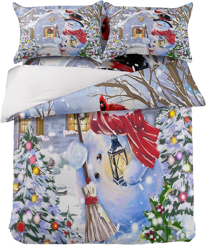 Bedding Sets Max 64% OFF 4 Pieces Soft Farmhouse Cute Cover Japan's largest assortment Christmas Duvet