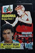 COOL 32 SEPTEMBRE 1987 COVER MADONNA + 6 PAGES MADONNA BONJOUR PARIS ! IMAGES AXEL BAUER NICK KAMEN
