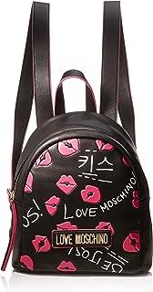 Love Moschino Backpack Handbags, Black (Nero)