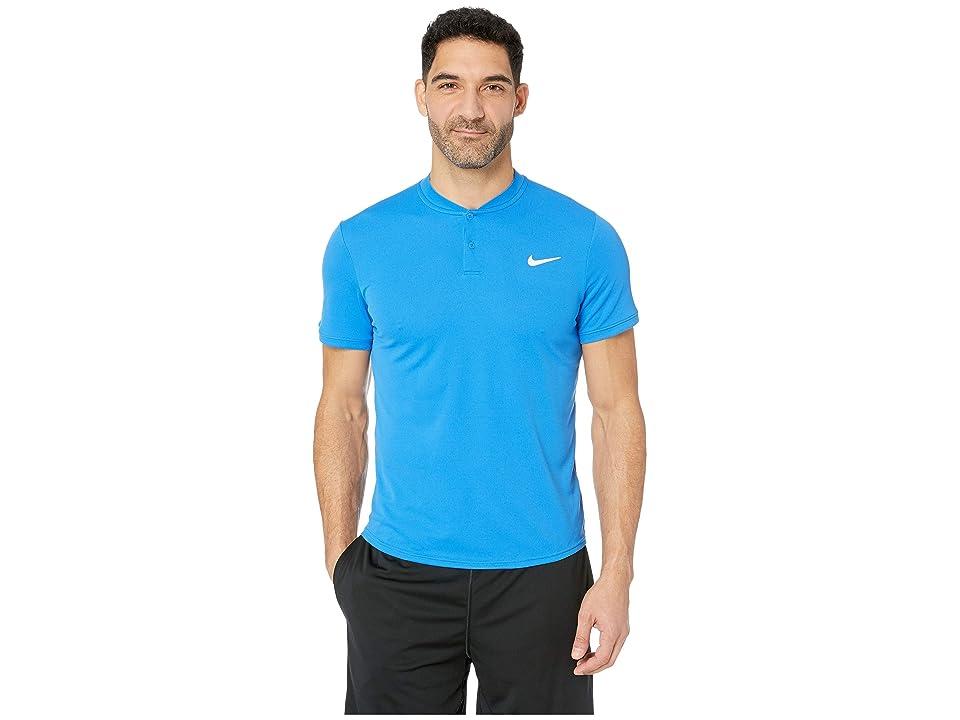 Nike NikeCourt Dry Polo Blade (Signal Blue/White) Men