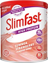 Slimfast High Protein Meal Replacement Shake Powder Summer Strawberry 438 g