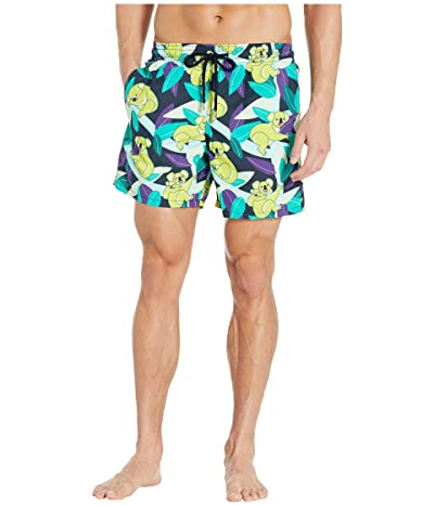 Vilebrequin Koalas Moorea Swim Trunks (Blue Marine) Men