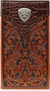 Ariat Men's Oak Embossed Rodeo Wallet