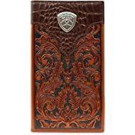 Men's Oak Embossed Rodeo Wallet