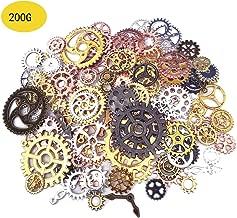 Best steampunk gears bulk Reviews