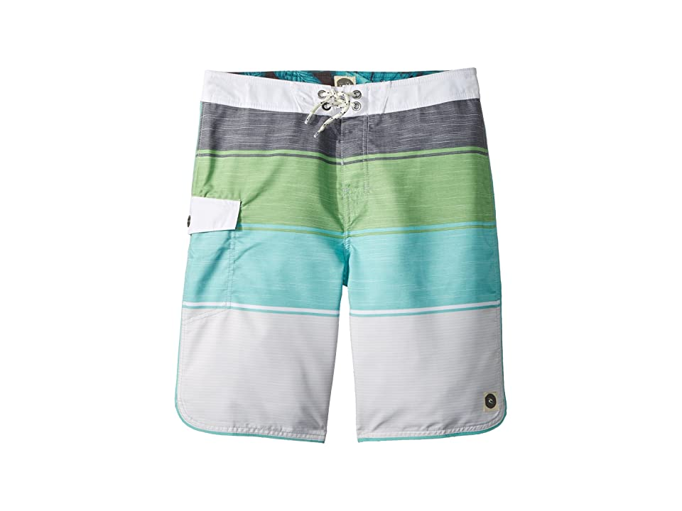 Rip Curl Kids Good Times Boardshorts (Big Kids) (Green) Boy