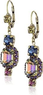 Sorrelli Classic Drop Earring with Swarovski crystals