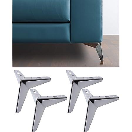 MINGZE 4 piezas Pies de muebles Patas de muebles Patas de ...