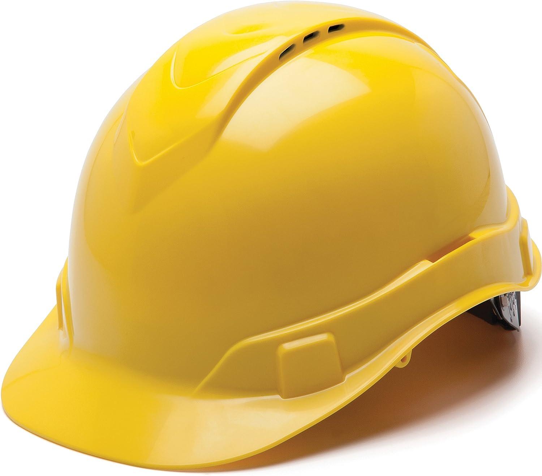 Pyramex Ridgeline Cap Style Memphis Mall Award-winning store Hard Ratchet Hat Su 4-Point Vented