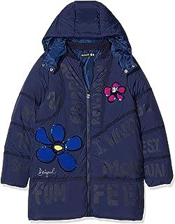 Desigual Coat Cerezas Abrigo para Niñas