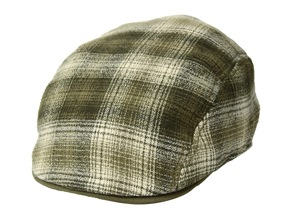 1940s Mens Hat Styles and History Goorin Brothers White Caps Olive Caps $65.00 AT vintagedancer.com