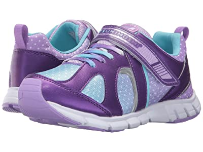 Tsukihoshi Kids Rainbow (Little Kid/Big Kid) (Purple/Light Blue) Girls Shoes