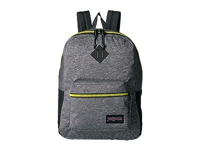 JanSport Super FX (Lime Sport Woven Knit) Backpack Bags