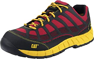 Cat Streamline S1P Mens Safety Footwear Shoe Rubber Outsole/PU Gents Work Boot