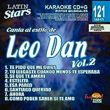 Karaoke Music CDG: Latin Stars Vol. 121 - Leo Dan Vol.2 CDG (Sale!)
