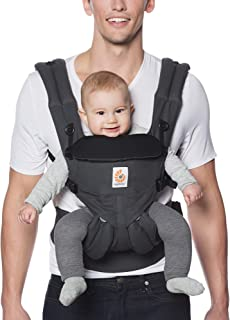 Ergobaby Carrier, Omni 360 All Carry Positions Baby Carrier, Charcoal