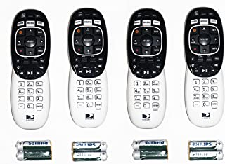 Lot of 4 DirecTV RC73 remote controls for Genie HR34 HR44 all HD DirecTV brand receivers