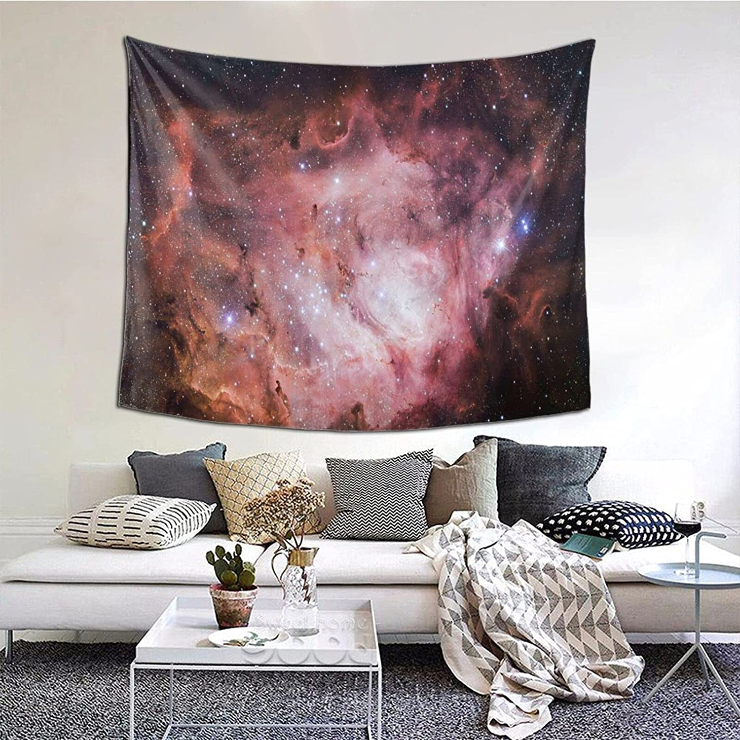 Space Collection Tapestry 60 Max 70% OFF National uniform free shipping 51 Multiple Colorful Ta Inch Hippie