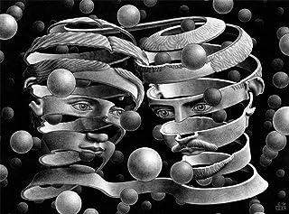Buffalo Games M.C. Escher, Bond of Union - 1000pc Jigsaw Puzzle by