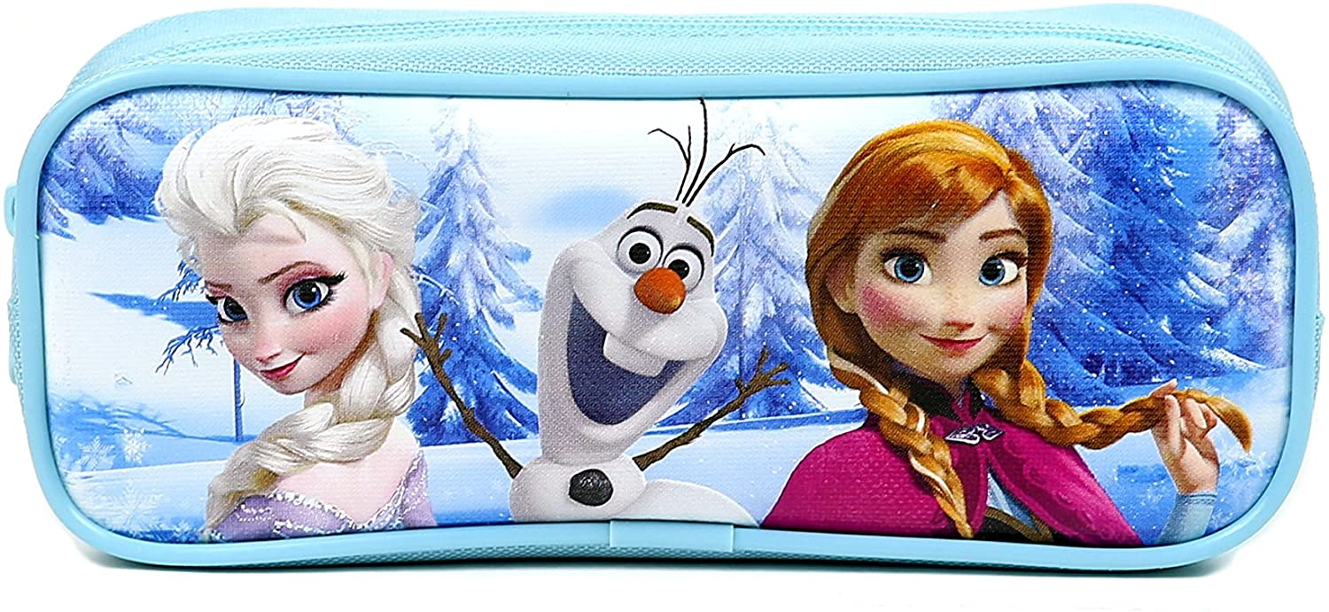 Disney Frozen Pencil Case OFFicial site Snow - Blue Fort Worth Mall