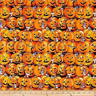 Best pumpkin print fabric Reviews