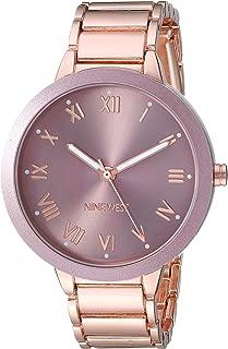 Nine West Women's Tone Bracelet Watch