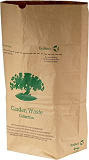 All-Green VC ES 75L-10 75 Litre Paper Compostable Garden Waste Sacks with 10 Bags, Brown