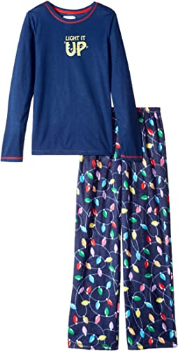 Get Lit Family Long Sleeve PJ Set (Toddler/Little Kids/Big Kids)