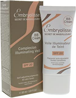 Embryolisse, Bb Cream Complexion Iluminating Veil Spf20, Mandel, 30 ml