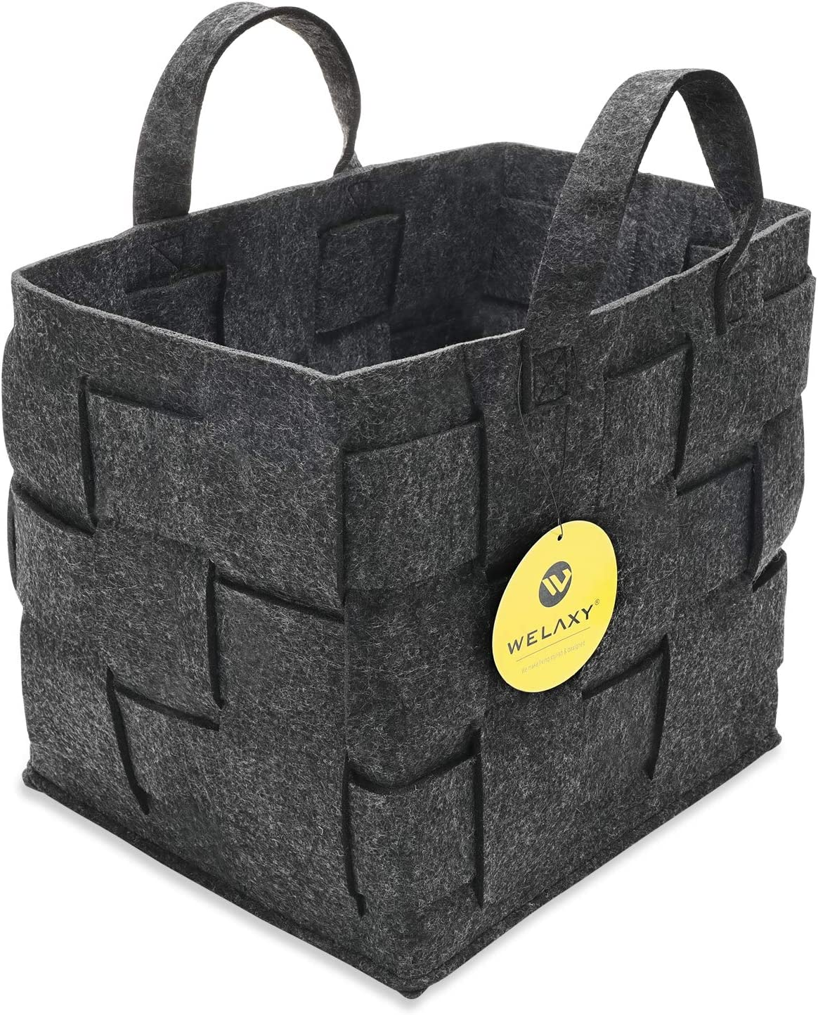 WELAXY Large Handmade Ranking TOP4 Woven Storage Handle Cubes 2021new shipping free shipping Bins Basket box