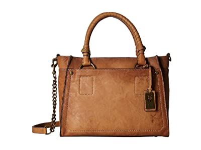 Frye Demi Satchel (Beige) Satchel Handbags