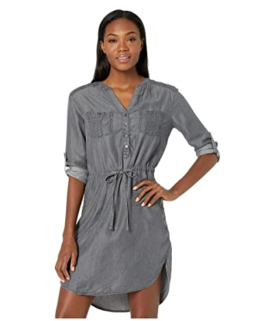 Prana Abbey Dress (Grey Wash) Women
