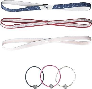 Amazon.com: Puma Golf 2020 Women's Headbands Hair Ties (Women's ...