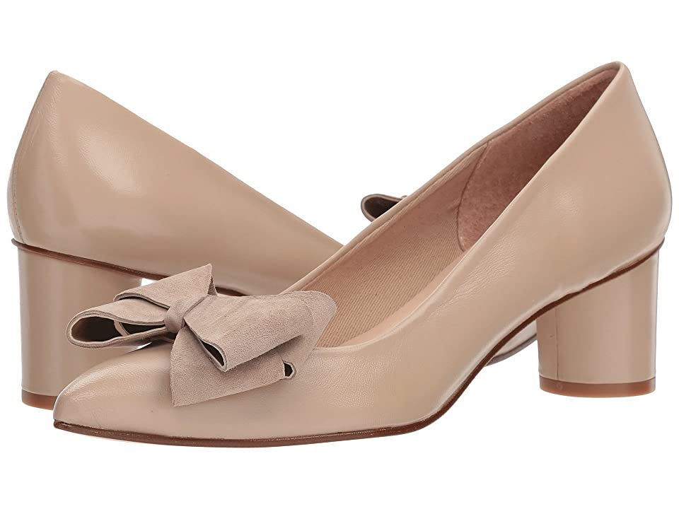 French Sole Bard (Natural Nappa Suede) Women