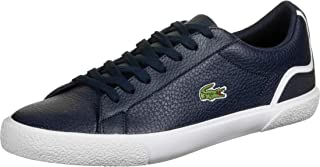 Lacoste Men's Lerond 220 1 CMA Leather Trainers, Blue