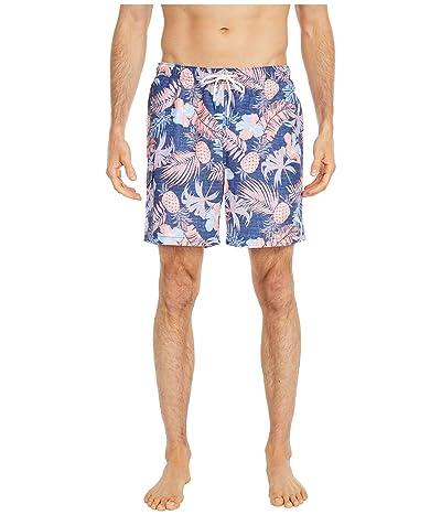 Tommy Bahama Naples Midnight Coral Swim Trunks (Ocean Deep) Men