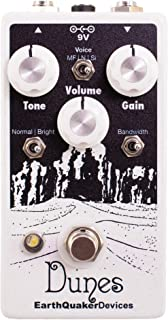EarthQuaker Devices Dunes Mini Mega Ultimate Overdrive Guitar Effects Pedal
