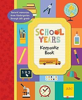 School Years Keepsake Book
