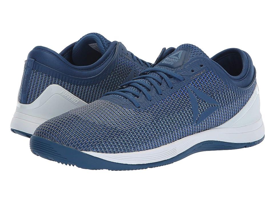 7d44b421123 Reebok CrossFit(r) Nano 8.0 (Bunker Blue Vital Blue Blue Slate Spirit White)  Men s Cross Training Shoes