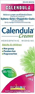 Boiron Calendula Cream, First Aid Cream, 70 g Tube, Topical Cream for Skin, Non-Greasy, Paraben-Free, Fragrance-Free