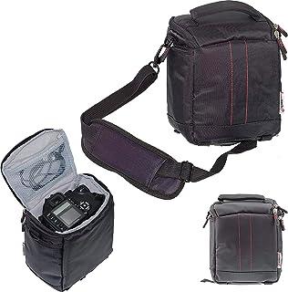 Navitech Czarna torba na lustrzankę DSLR kompatybilna z aparatem cyfrowym Fujifilm X-S10 bezlusterkowy