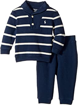 Ralph Lauren Baby - Cotton Pullover & Pants Set (Infant)