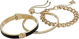 Three-Piece Bracelet Set - One Hinge, One Slider and One Link