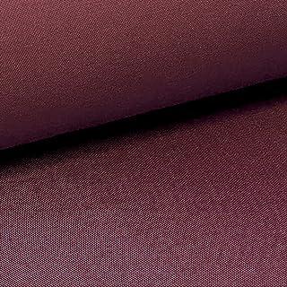 NOVELY Provent Schwerer Twill   100% Baumwolle   Reißfester Stoff   Polsterstoff Segeltuch Schutzbekleidung Farbe: 29 Bordeaux