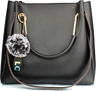 Mammon Women's Handbag (LR-bib-blk_Black)