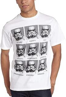 stormtrooper emotions t shirt