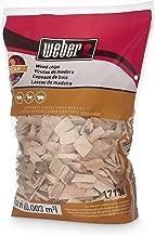 Weber Cubic Meter Stephen Products 17136 Pecan Wood Chips, 192 cu. in. (0.003 cubi, 2 lb