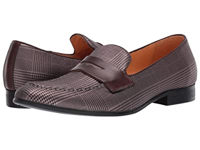 Carrucci Glen Plaid (Taupe) Men