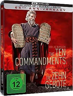 Die zehn Gebote - Limited Steelbook (4K Ultra HD) (+ Blu-ray 2D)
