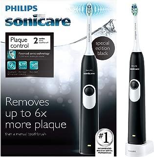 Philips Sonicare 2 Series 超声波电动牙刷,黑色,HX6211/07